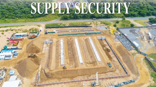 Richards Bay storage facility to bolster reliability of LPG supply