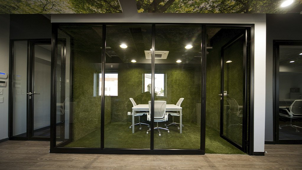 RATINGS  The GBCSA Rosebank office received a 4-Star Interiors Rating based on the assessment of the environmental attributes of the building's interior fit-outs