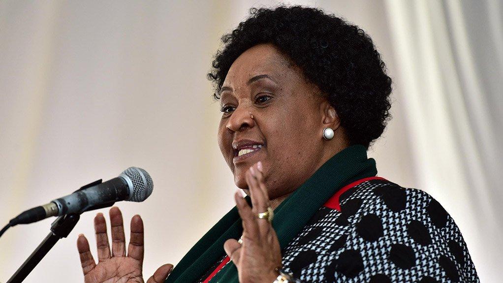 Free State Premier Sefora 'Sisi' Ntombela