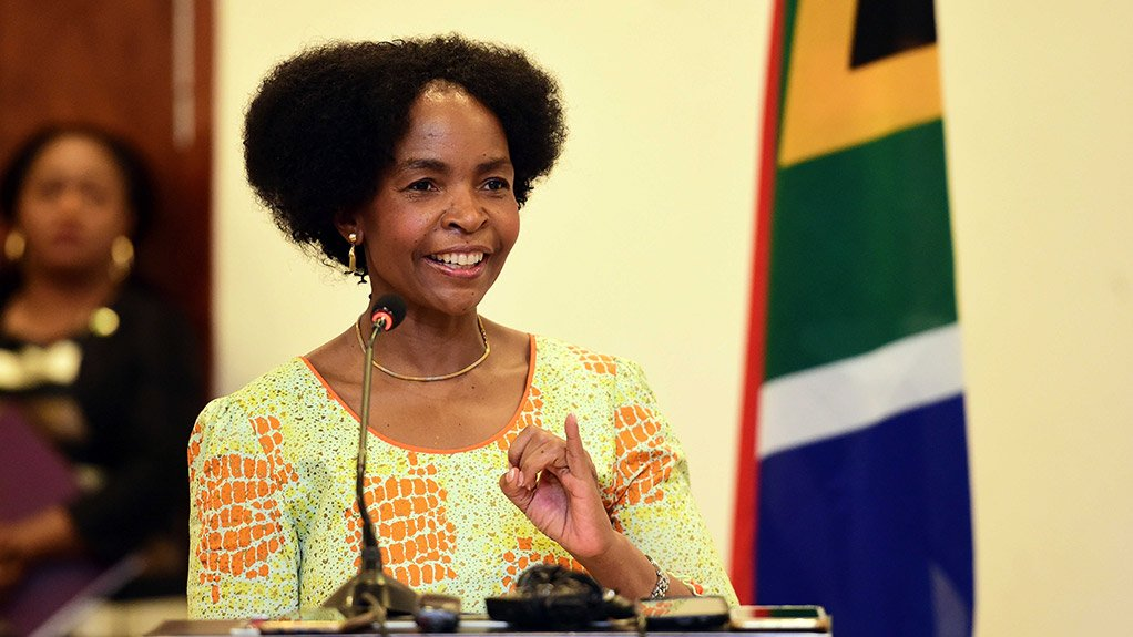 Minister in the Presidency Responsible for Women, Youth and Persons with Disabilities Maite Nkoana-Mashabane