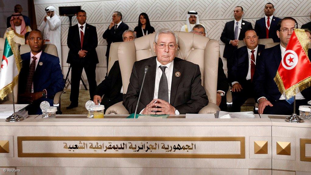 Algerian Interim President Abdelkader Bensalah