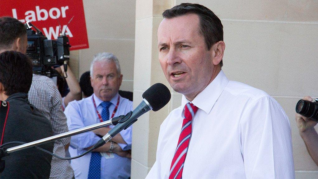Premier Mark McGowen