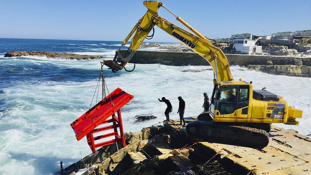 Construction of 1 MW wave-energy pilot project under way in Hermanus