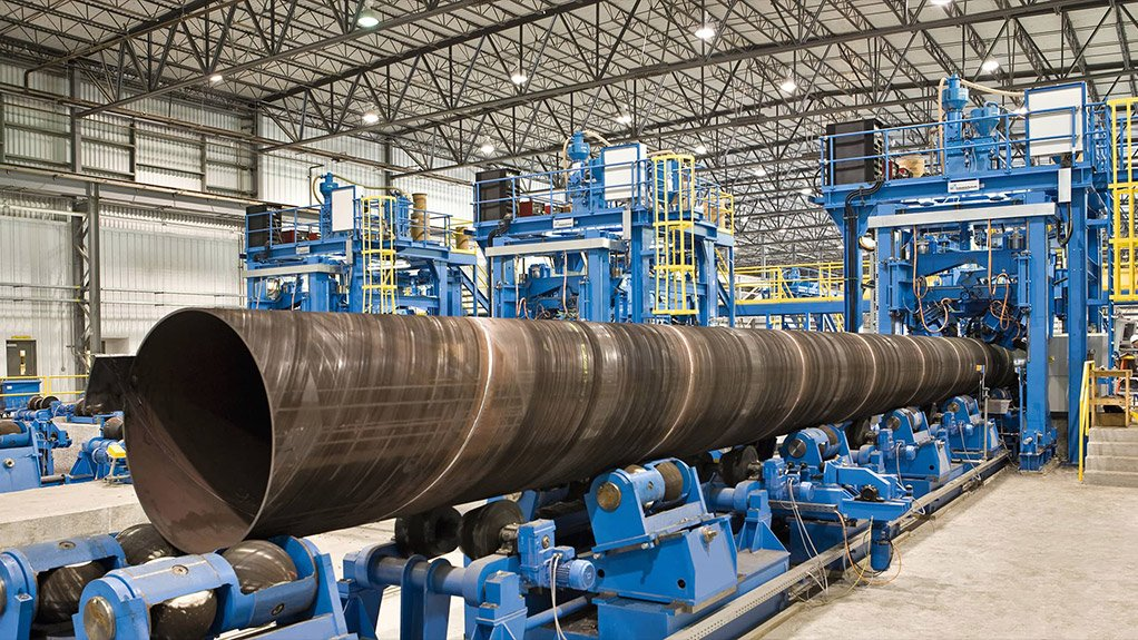MANUFACTURING IN SIGHT  Intensive roll-out of infrastructure spend by government would be the ideal catalyst to create demand locally and increase manufacturing capacity
