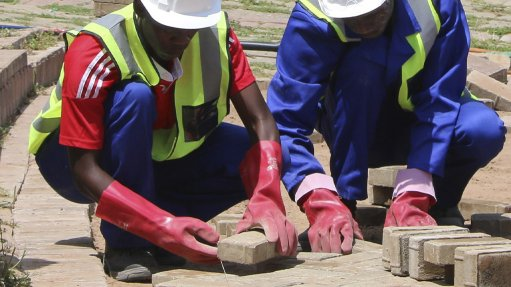 LAYING A FOUNDATION The company hopes to educate young unemployed people with its new programme
