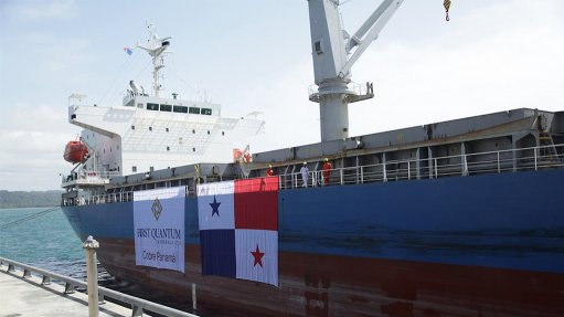 First copper from Cobre Panama sets sail