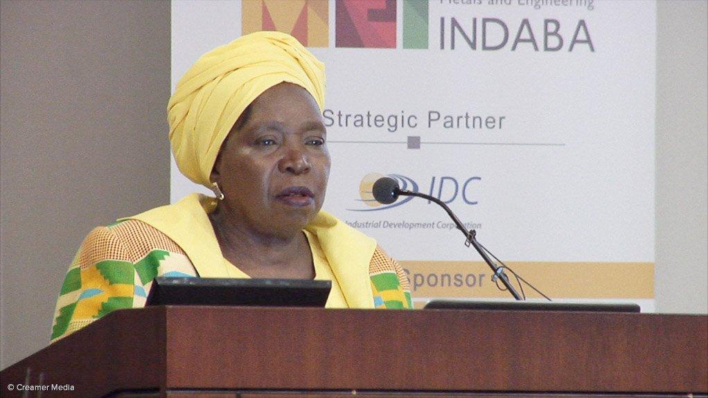 Minister of COGTA, Dr Nkosazana Dlamini-Zuma