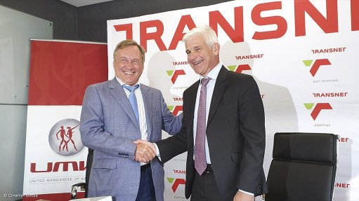 Transnet signs R8.5bn rail deal with UMK