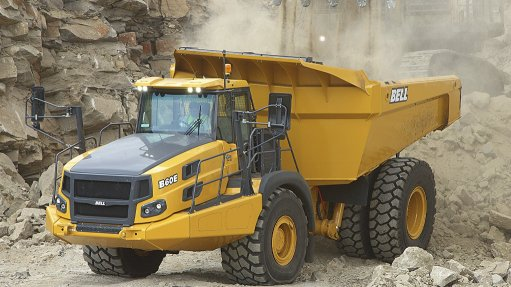 High-powered dump  truck available in SA