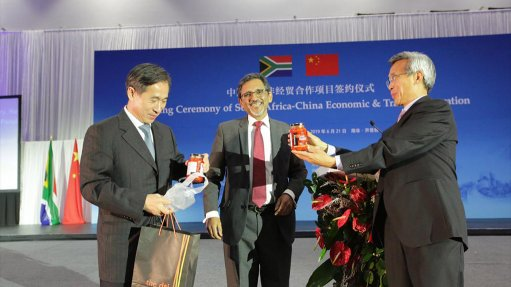 South Africa, China sign deals that signify 'deepening economic relationship'