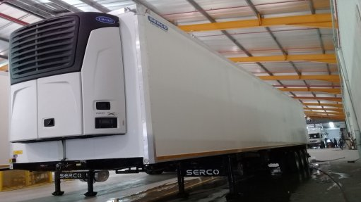 Lighter refrigerated trailers on offer