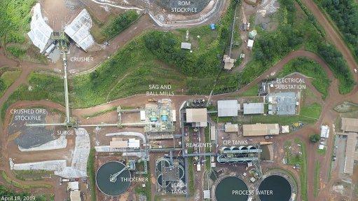 Aurizona mine, Brazil