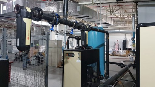 Additional air compressor installed at pharmaceuticals company