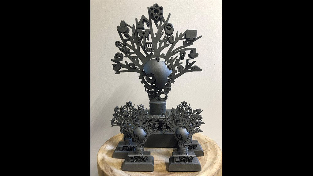 3D-printed Factory of the Year trophies