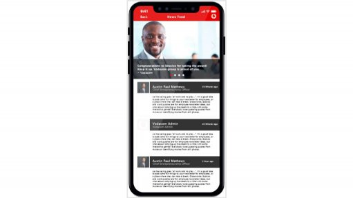 Vodacom places its employees at the forefront of the company's digital transformation journey