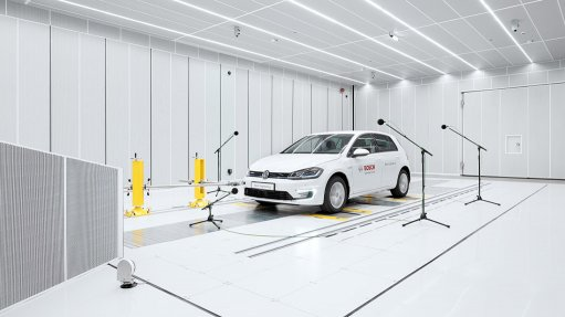Automotive acoustics testing facility opened