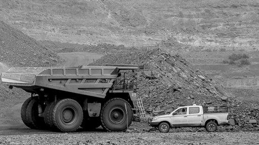 Tshipi Borwa mine, South Africa