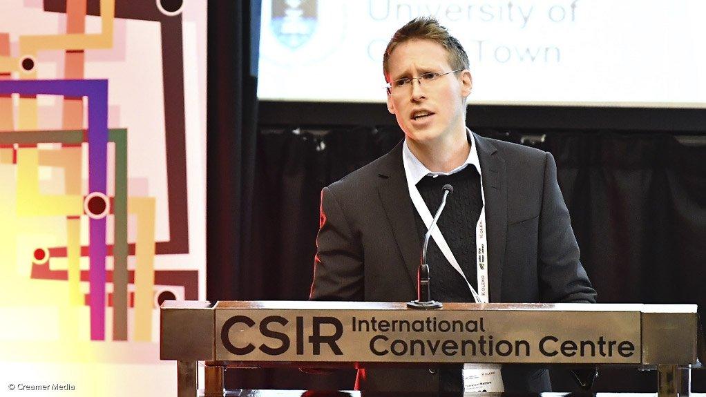 UCT researcher Matthew Townshend