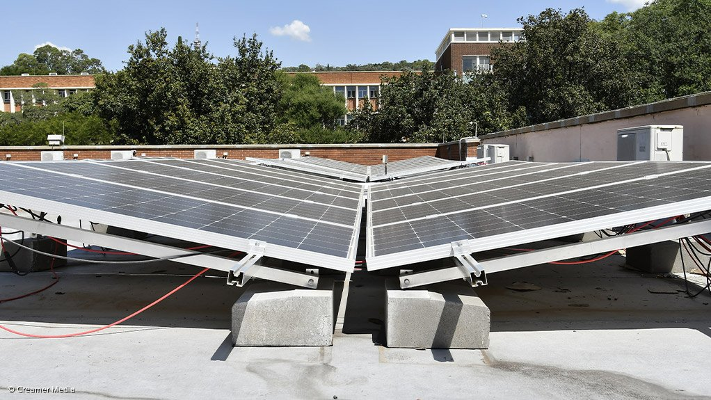 ROOFTOP SUCCESSThe CSIR Energy Autonomous Campus introduced a single installation of rooftop solar panels in 2017, thus far proving to be greatly successful