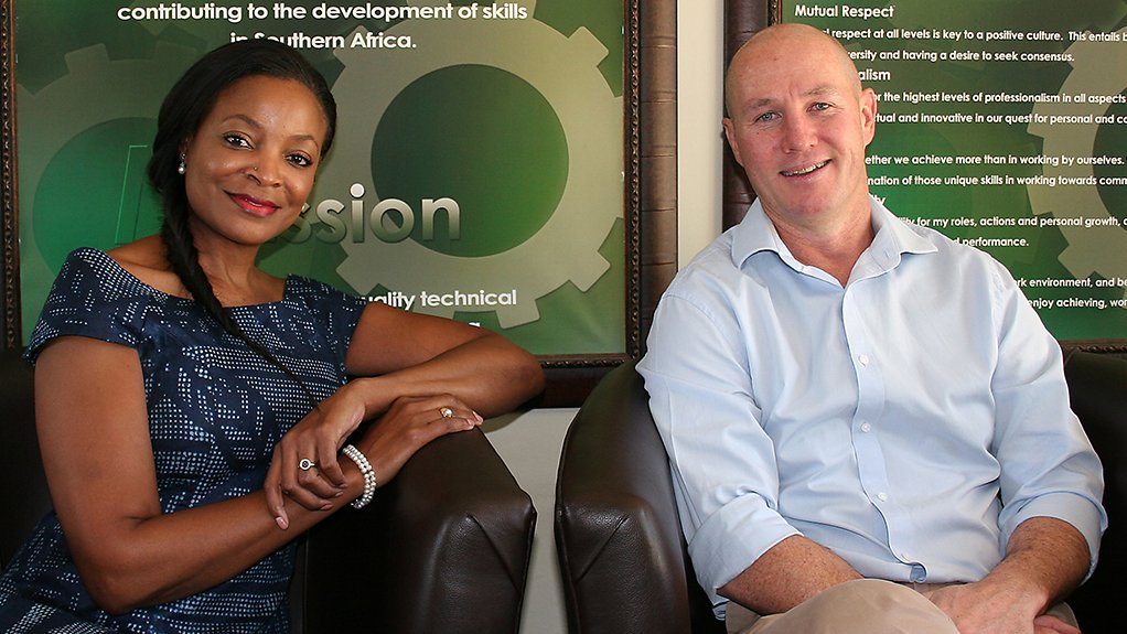 MANDISA SOWAZI AND SEAN JONES ATI focuses on quality training by hiring experienced professionals as trainers and educators