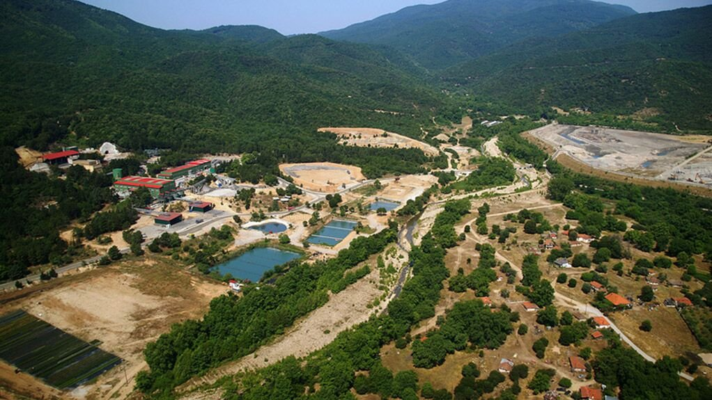 The Olympias mine, in Greece.