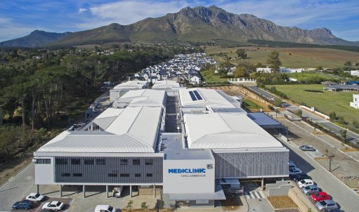 Mediclinic moves to new Stellenbosch hospital developed by Atterbury
