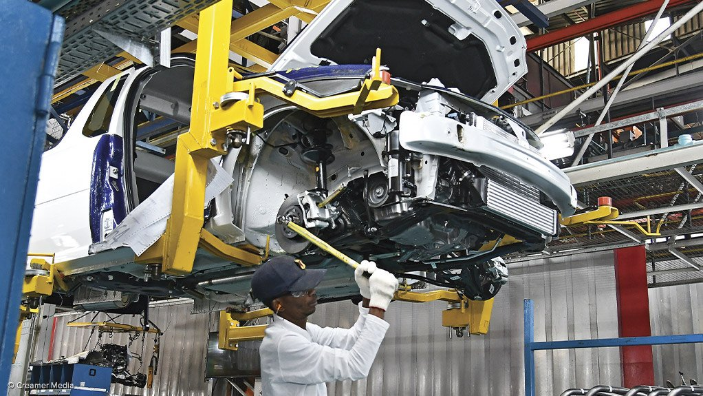 LOOKING POSITIVE South Africa's vehicle manufacturing output is set to rebound in the second quarter this year partly owing to improved post-election stability following the elections