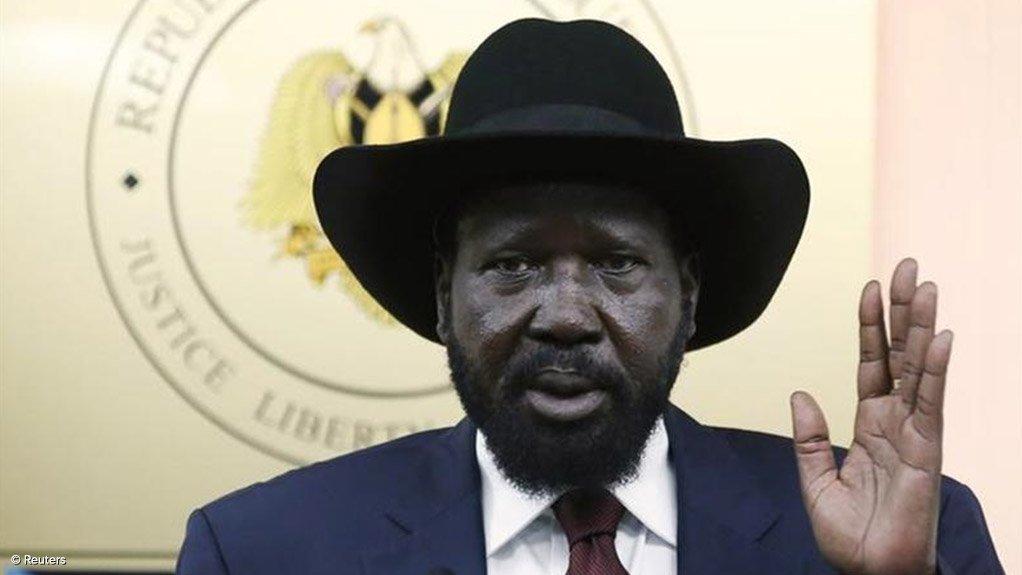 South Sudan President Salva Kirr