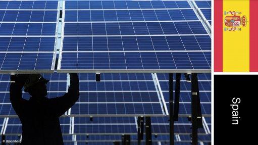 La Solanilla solar farm, Spain