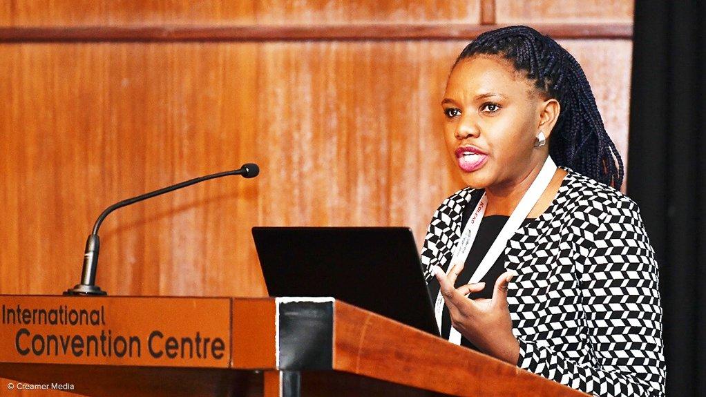 Transnet National Ports Authority logistics supply chain specialist Lwandile Mabuza