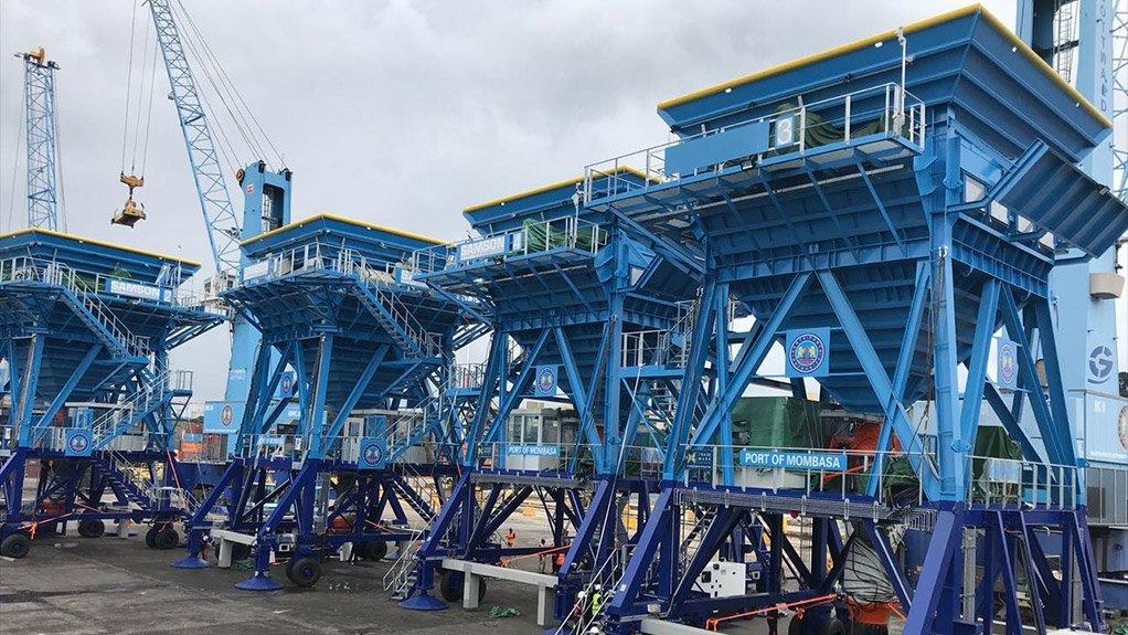 BULK UP BLTWORLD delivered four new Samson Eco Hoppers to Kenya's Port of Mombasa
