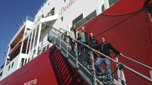 Stellenbosch engineering students continue studies about SA's polar research ship