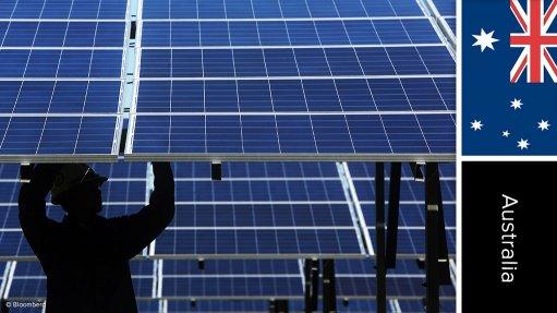 Kiamal solar photovoltaic farm, Australia