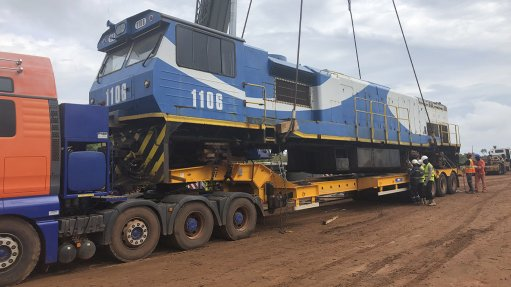 Grindrod recovers locomotives from Sierra Leone