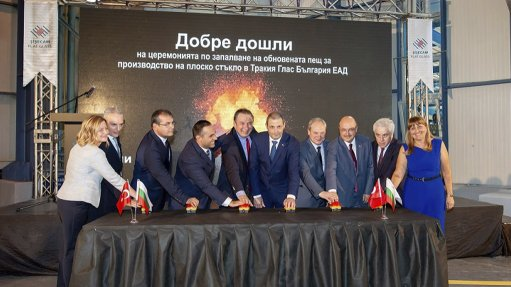 Furnace-firing ceremony for Bulgaria-based group