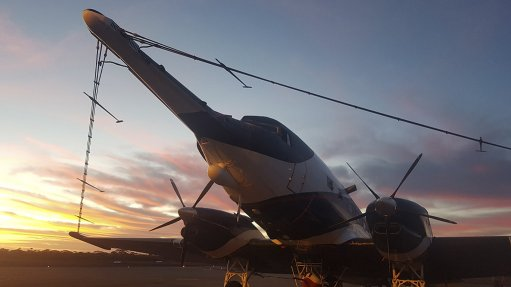 SOARING AMBITIONS  Spectrem Air will keep the SPECTREM plus system in Africa for about two years, but will most likely return to Australia to meet the demand for airborne geophysics