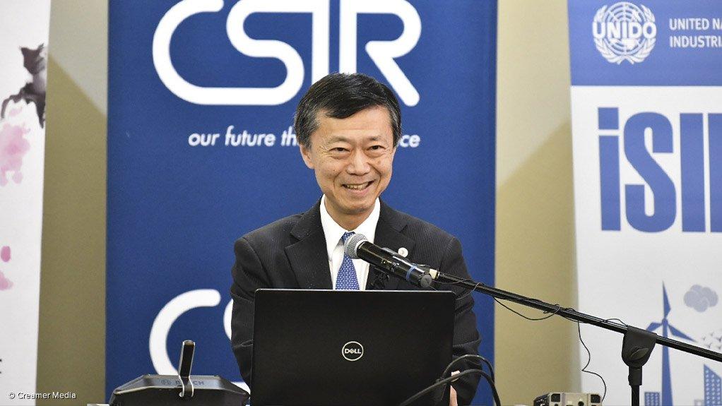 Japanese Ambassador to South Africa Norio Maruyama