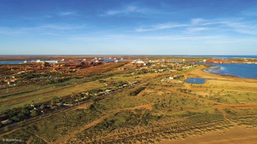 RESIDENTS SEE RED AT IRON-ORE PORT