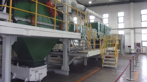 S Africa gets first  dry separator pilot plant in Africa