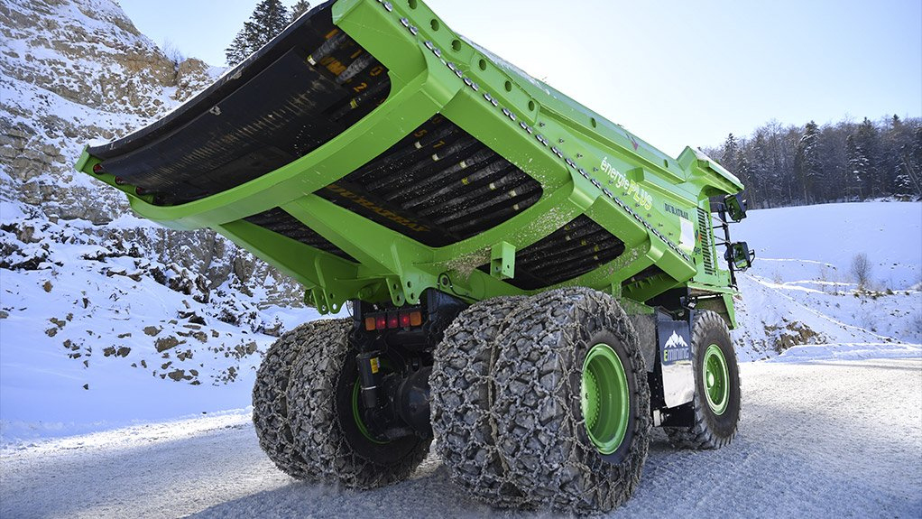 Electric dumper performing better than expected, says Switzerland's eMining