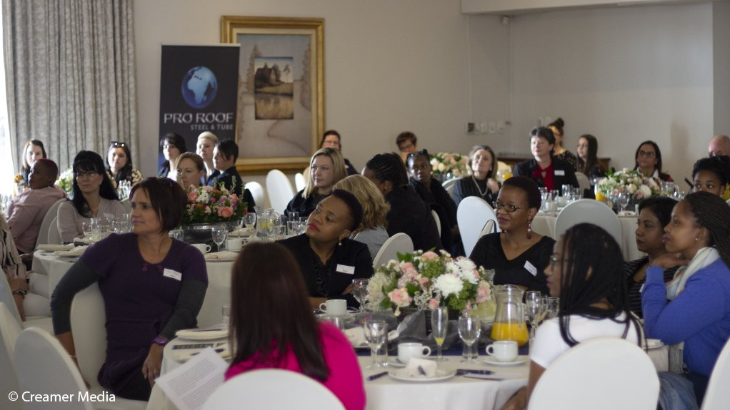 WOMEN OF METTLE Women from all levels of the industry attended the second yearly Women in Steel event