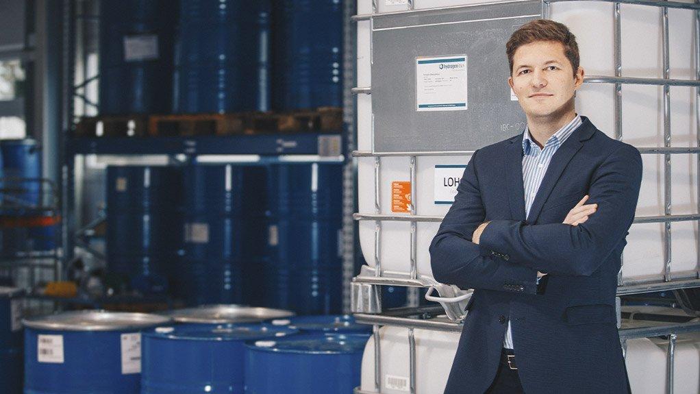 Hydrogenious Technologies founder and CEO Dr Daniel Teichmann