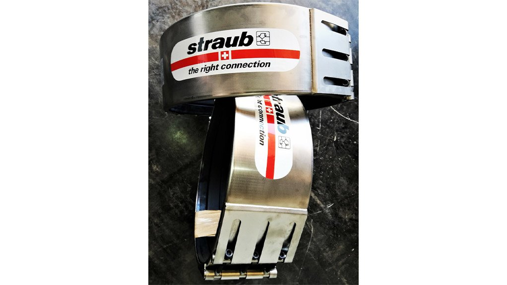 STRAUB COUPLIGS The Straub Grip and Open Flex reduces pipe assembly to just fifteen minutes