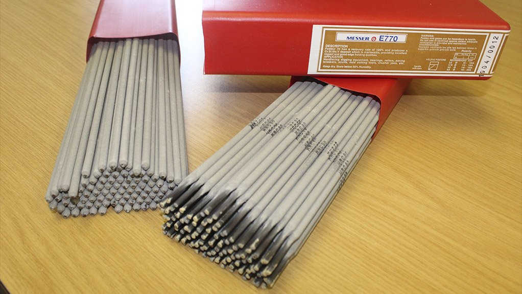 HIGH-QUALITY ELECTRODES  First Cut ensures that South African fabricators can buy high-quality Messer electrodes at a very reasonable price