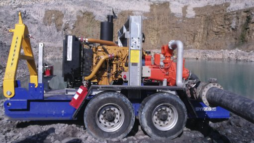 High-head dewatering saved the day at Lesotho mine