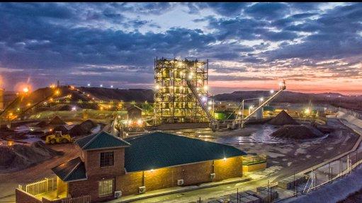 Kroondal mine, South Africa