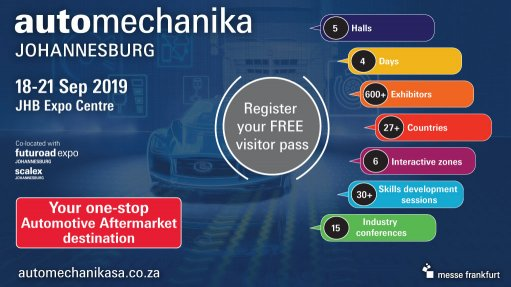 Global Automechanika brand is back in Johannesburg this month