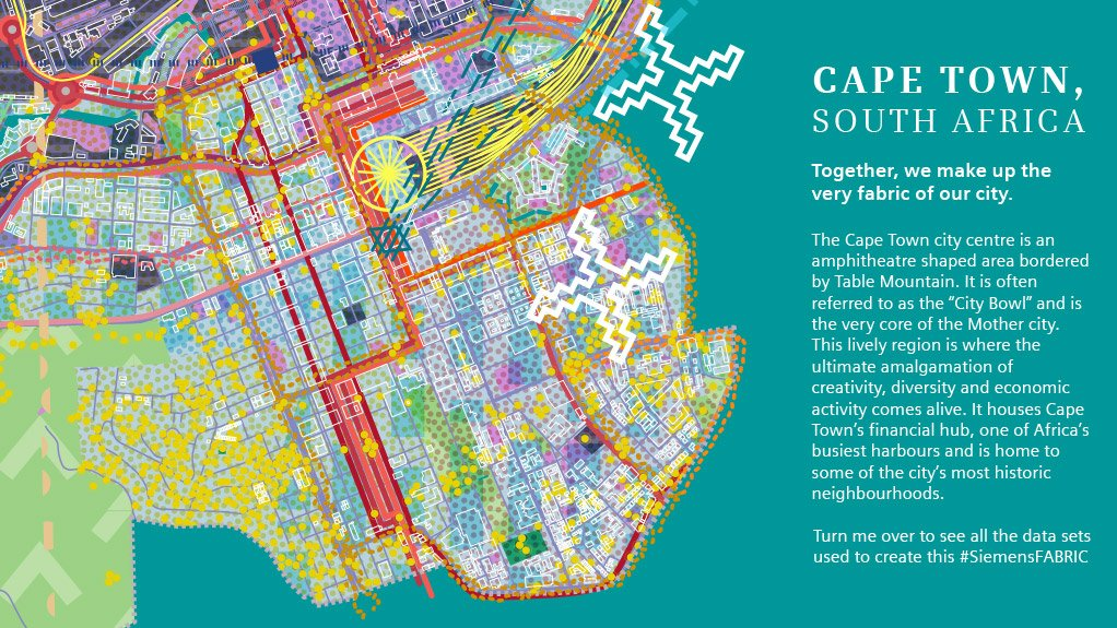 Siemens unveils data-centric visualisation for City of Cape