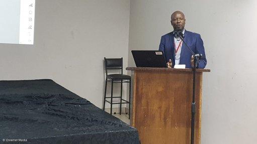Eskom senior project manager Karabo Rakgolela