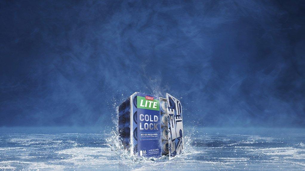 Castle Lite world-first secondary packaging keeps beer colder for longer